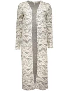 onlkamma l/s long cardigan ess 15123379 only vest cloud dancer/ black