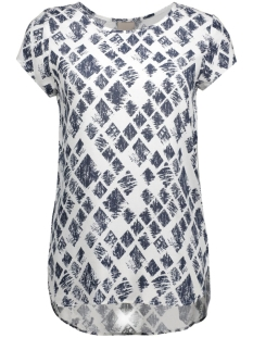 Vero Moda T-shirts VMBOCA SS BLOUSE PRINTED 10128072 Snow White/Graphic