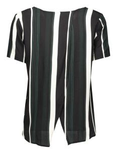 onlstrix cupid stripe s/s top wvn 15122991 only t-shirt jet set/worker