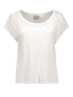 vmtinna s/s top jrs 10162238 vero moda t-shirt snow white
