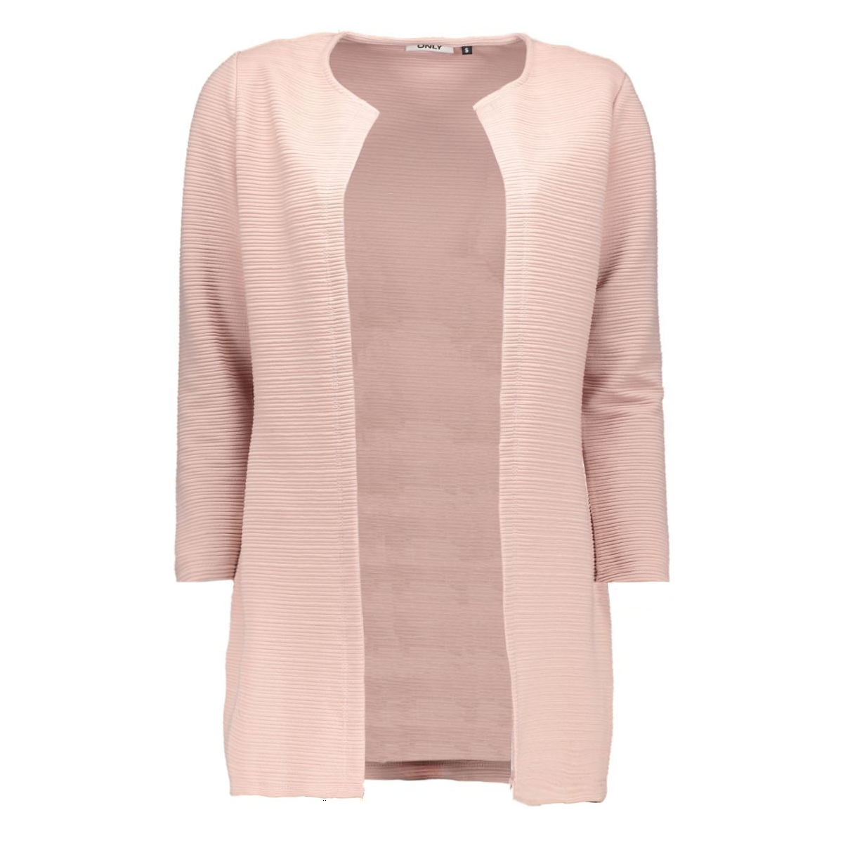 onlleco 7/8 long cardigan jrs noos 15112273 only vest adobe rose