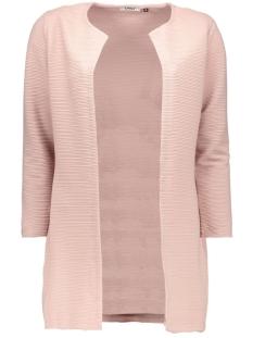 Only Vest onlLECO 7/8 LONG CARDIGAN JRS NOOS 15112273 Adobe Rose
