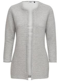 onlleco 7/8 long cardigan jrs noos 15112273 only vest light grey melange