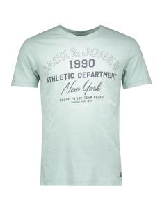 Jack & Jones T-shirt JORKLOVN TEE SS CREW NECK 12108424 Mineral Blue