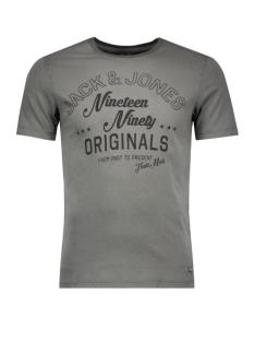 jorklovn tee ss crew neck 12108424 jack & jones t-shirt raven