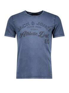 Jack & Jones T-shirt JORKLOVN TEE SS CREW NECK 12108424 Navy Blazer
