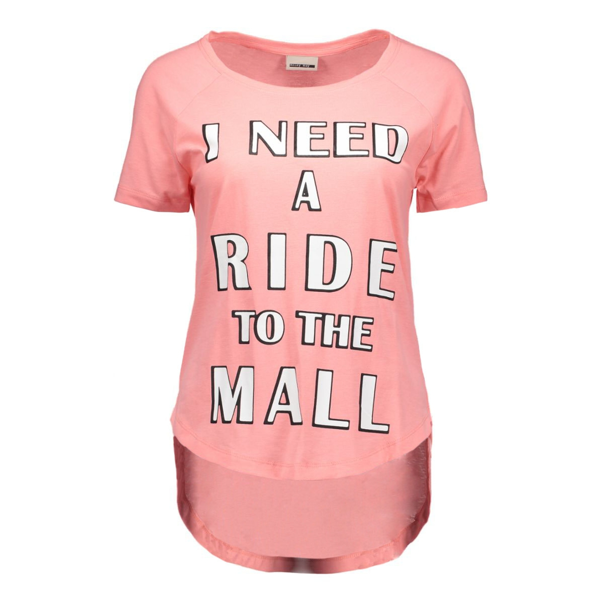 nmpeter s/s top 16- 6 10162859 noisy may t-shirt salmon rose