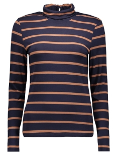 Object T-shirt OBJELONA L/S ROLLNECK TOP 23022840 Sky Captain