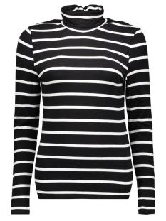 Object T-shirt OBJELONA L/S ROLLNECK TOP 23022840 Black