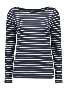 VITINNY BOATNECK L/S TOP 14039287 Total Eclipse