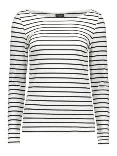 Vila T-shirts VITINNY BOATNECK L/S TOP 14039287 Snow White
