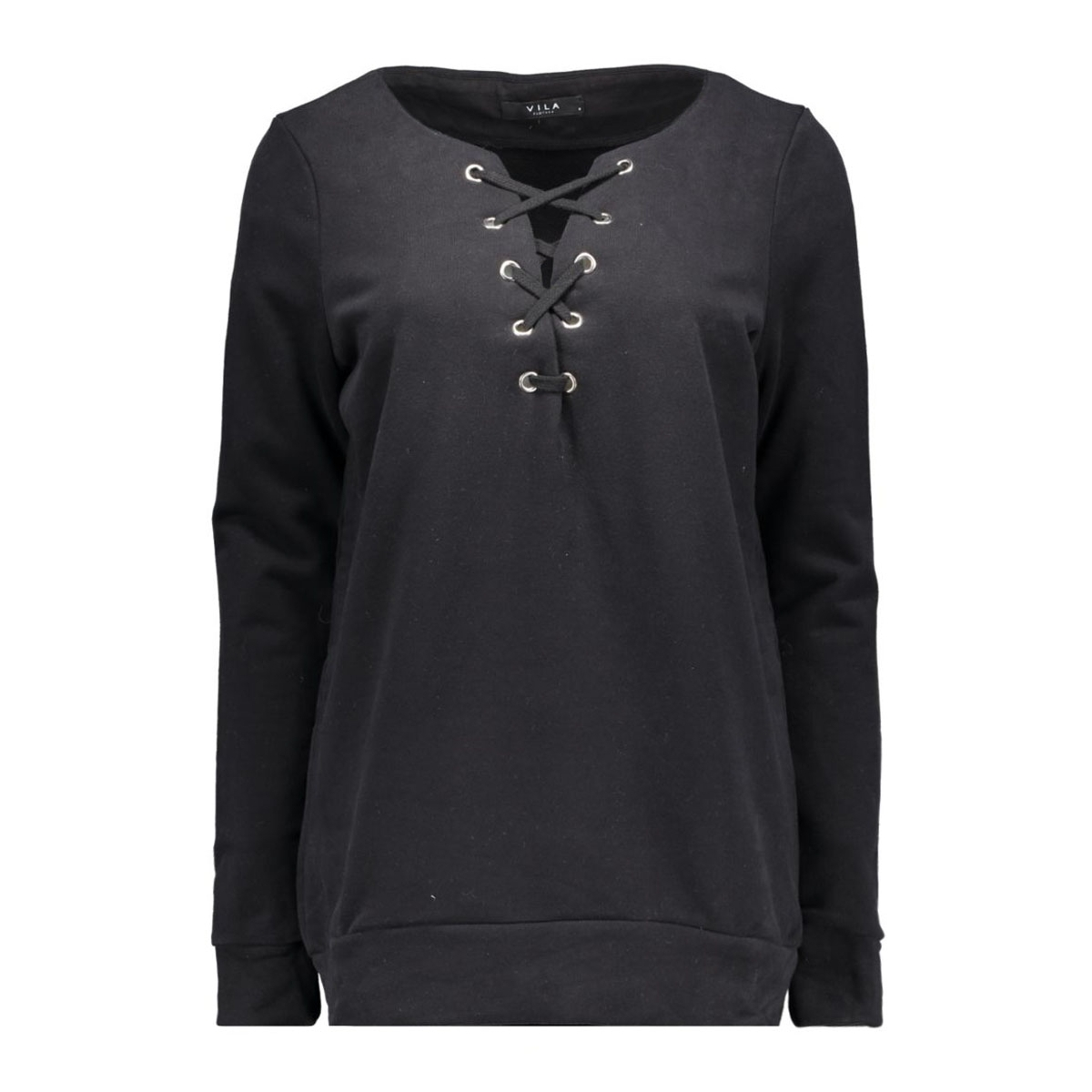 vistate sweat top/1 14038427 vila sweater black