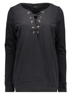 Vila Sweaters VISTATE SWEAT TOP/1 14038427 Black