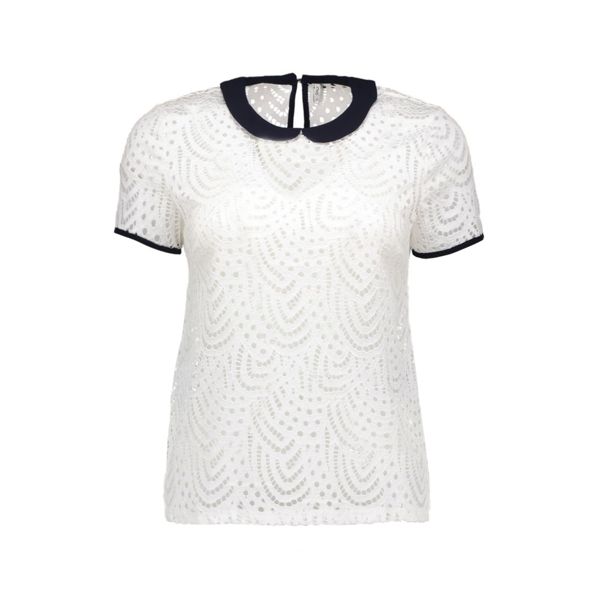 onldutchess s/s top jrs 15123010 only t-shirt cloud dancer