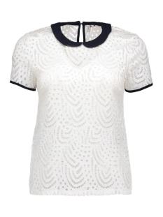 Only T-shirts onlDUTCHESS S/S TOP JRS 15123010 Cloud Dancer