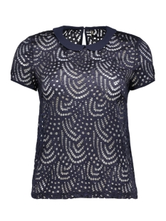 Only T-shirts onlDUTCHESS S/S TOP JRS 15123010 Night Sky