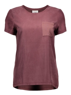 Vero Moda T-shirts VMTENNA S/S TOP DNM GA 10161808 Decadent Chocolate