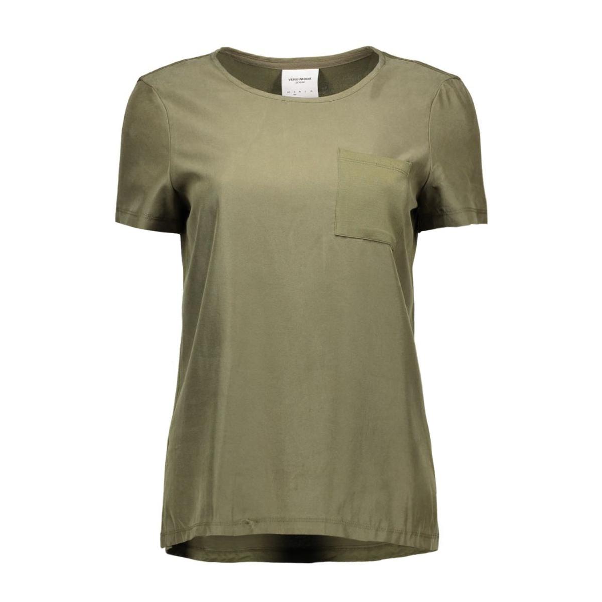 vmtenna s/s top dnm ga 10161808 vero moda t-shirt ivy green