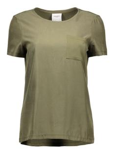 Vero Moda T-shirts VMTENNA S/S TOP DNM GA 10161808 Ivy Green