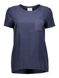 Vero Moda T-shirts VMTENNA S/S TOP DNM GA 10161808 Navy Blazer