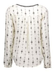 vipointy l/s top 14036753 vila blouse pristine