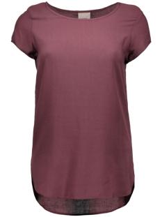 Vero Moda T-shirts BOCA SS BLOUSE COLOR 10104053 Decadent Chocolate