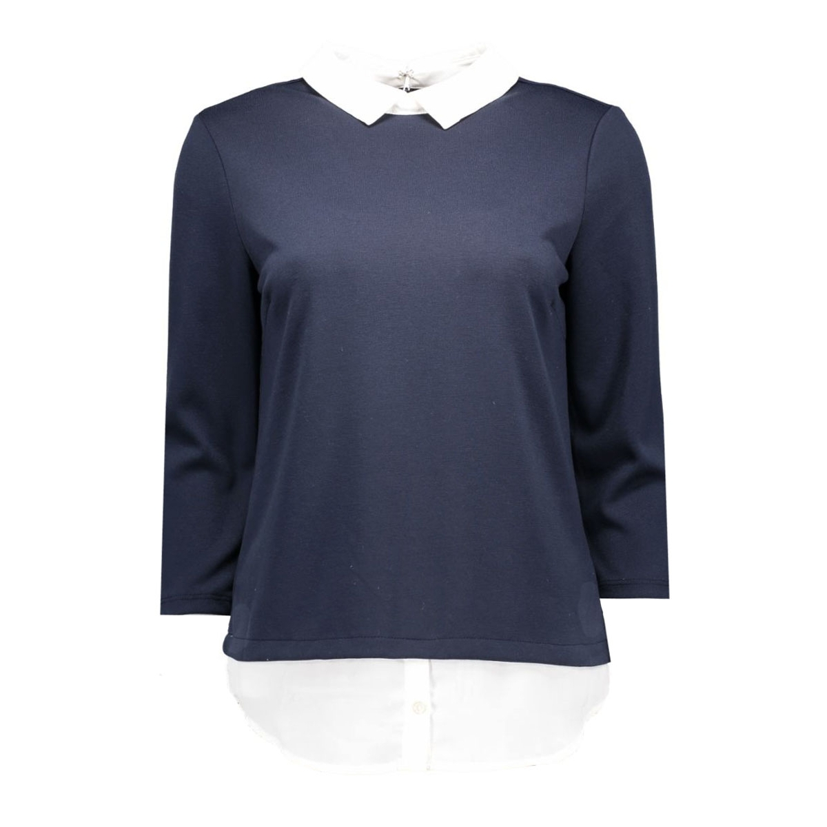 vitinny shirt detail top 14038394 vila t-shirt total eclipse