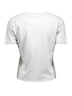 onlshine all day s/s top jrs 15132515 only t-shirt light grey melange
