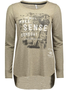 onlCLARA L/S STRAIGHT TOP BOX ESS 15129351 Tarmac/Sense