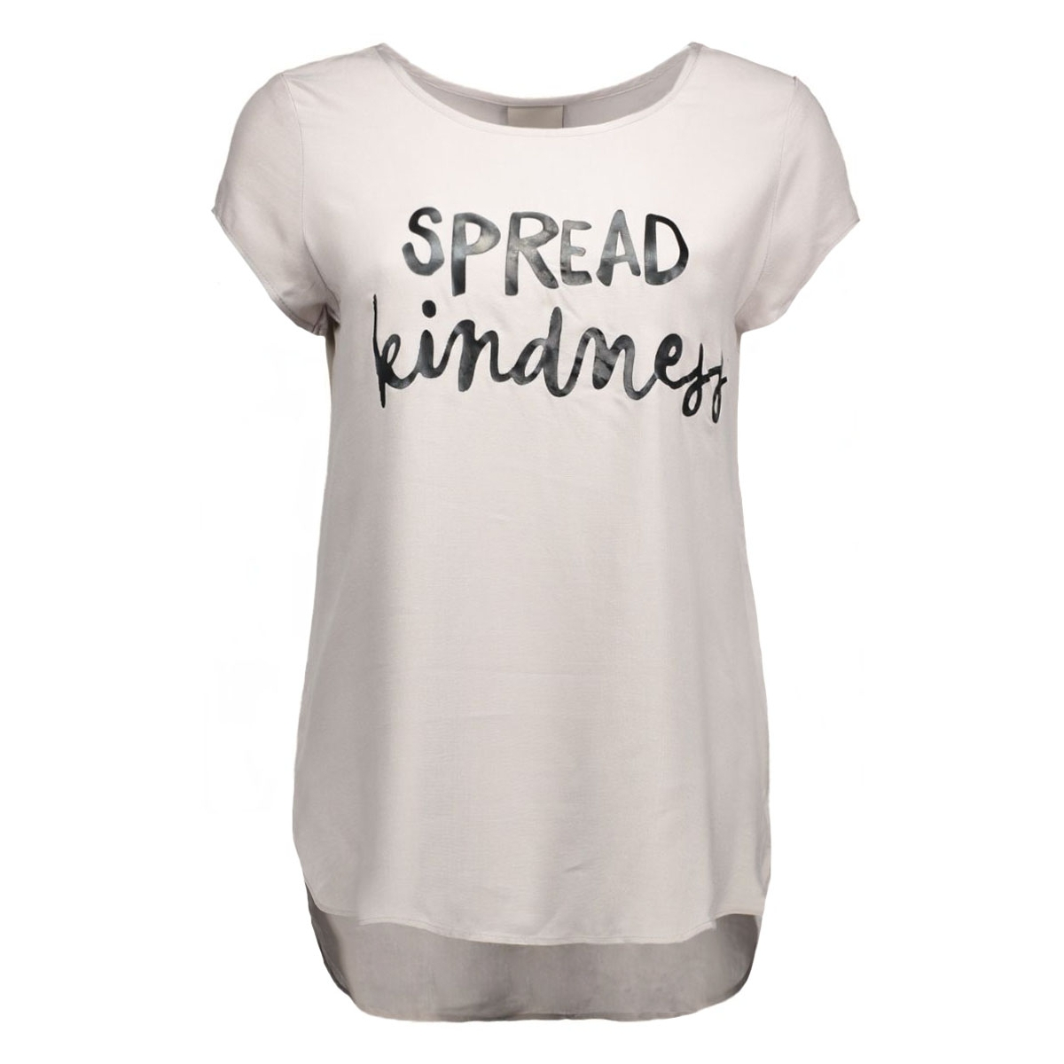 vmboca ss blouse printed 10128072 vero moda t-shirt ash/spread kin