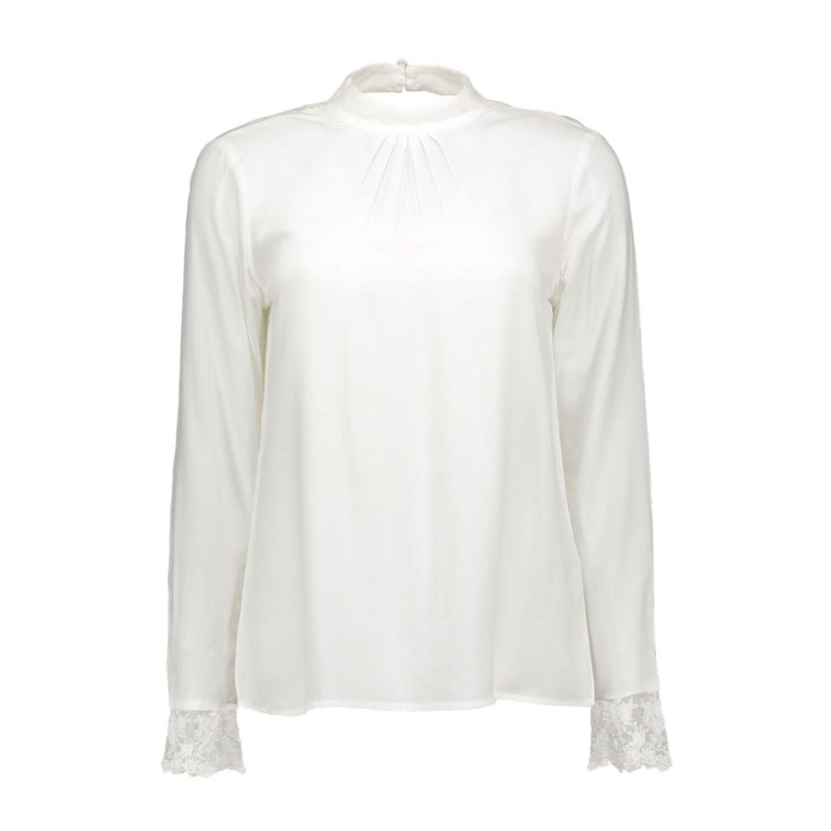vimeta l/s top 14040191 vila blouse snow white