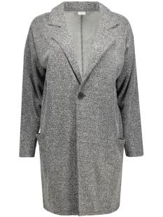 jdyteller l/s cardigan swt 15117187 jacqueline de yong blazer dark grey melange