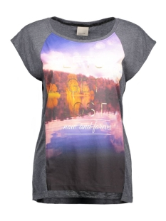 vmnanna s/s top box jrs 10162473 vero moda t-shirt navy blazer/melange fa
