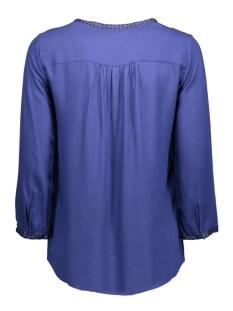 vmcharlotte 3/4 top dnm 10161642 vero moda blouse twilight blue/black tape