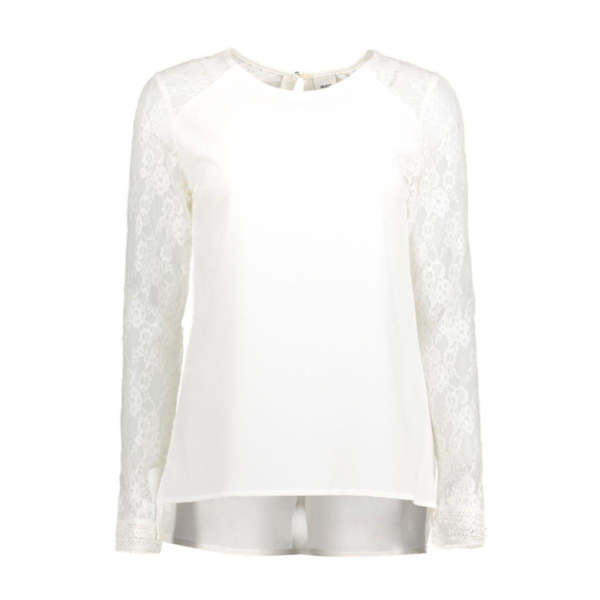 objcam l/s top campaign 23022652 object t-shirt gardenia