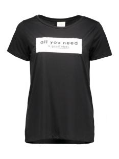Vila T-shirt VISOLARIS T-SHIRT 14040275 black