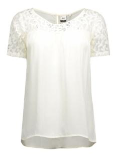Object T-shirts OBJENGEL S/S TOP 86 .I 23023352 Gardenia