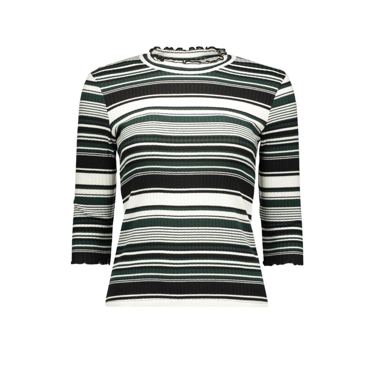 onlpiska 3/4 stripe  top jrs 15133567 only t-shirt cloud dancer/ scareb com