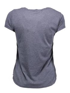 vmmoog molly animal ss top box dnm 10162155 vero moda t-shirt navy blazer/melange w