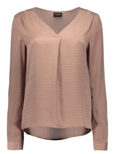 vimelli l/s new top-noos 14036767 vila blouse antler