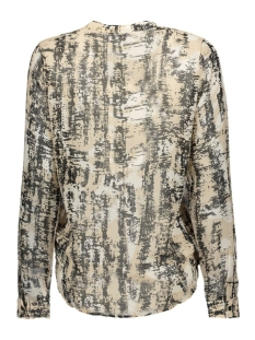 vifantine l/s top 14037945 vila blouse sandshell