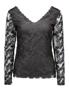 Vila T-shirts VISENNA TOP 14040829 black