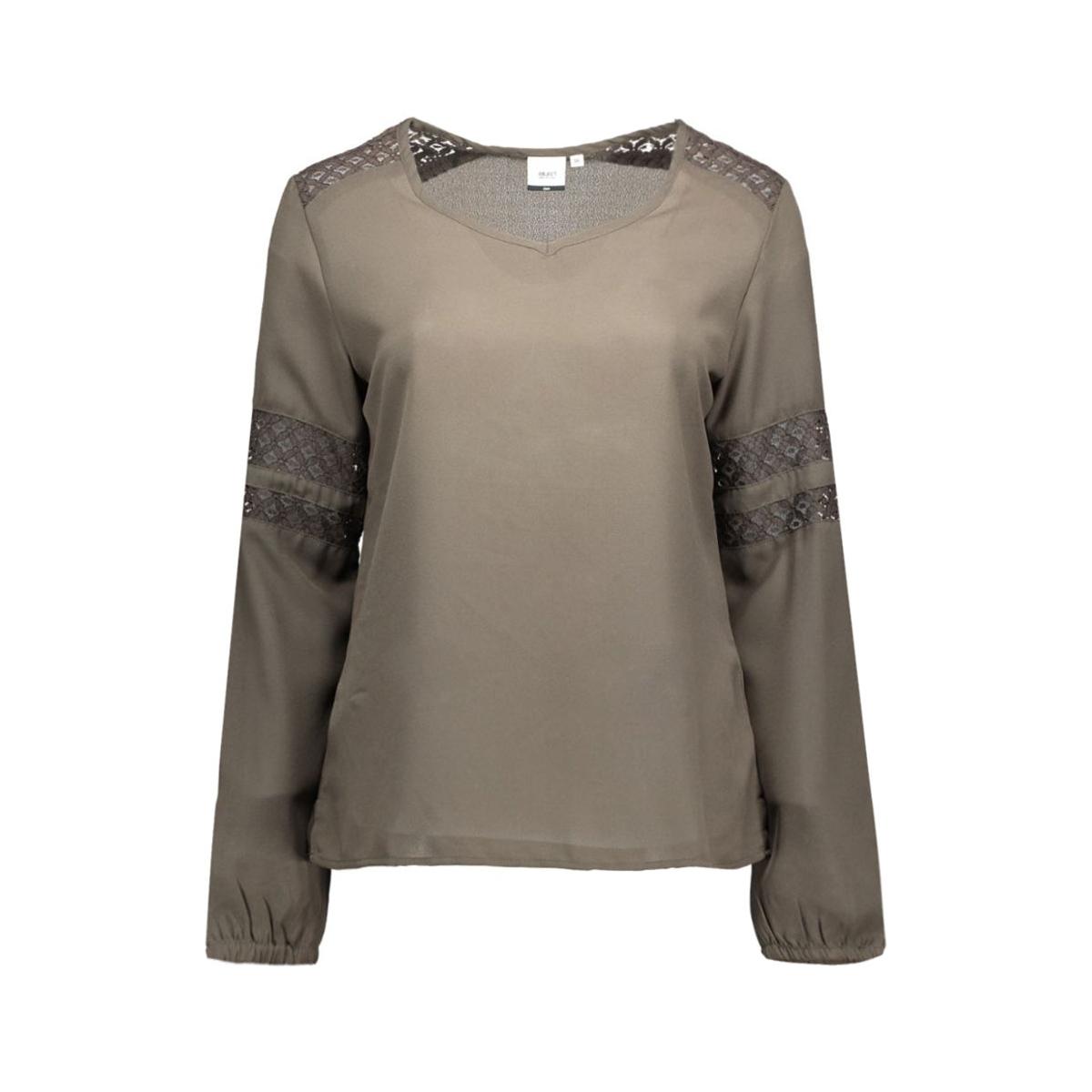 objcasa l/s top 23023149 object blouse beluga