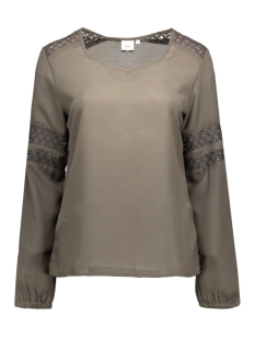 Object Blouse OBJCASA L/S TOP 23023149 Beluga