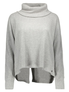 NMSTEVE L/S TOP 10163053 light grey melange