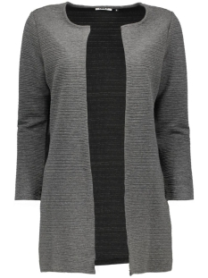 onlleco 7/8 long cardigan jrs noos 15112273 only vest dark grey melange