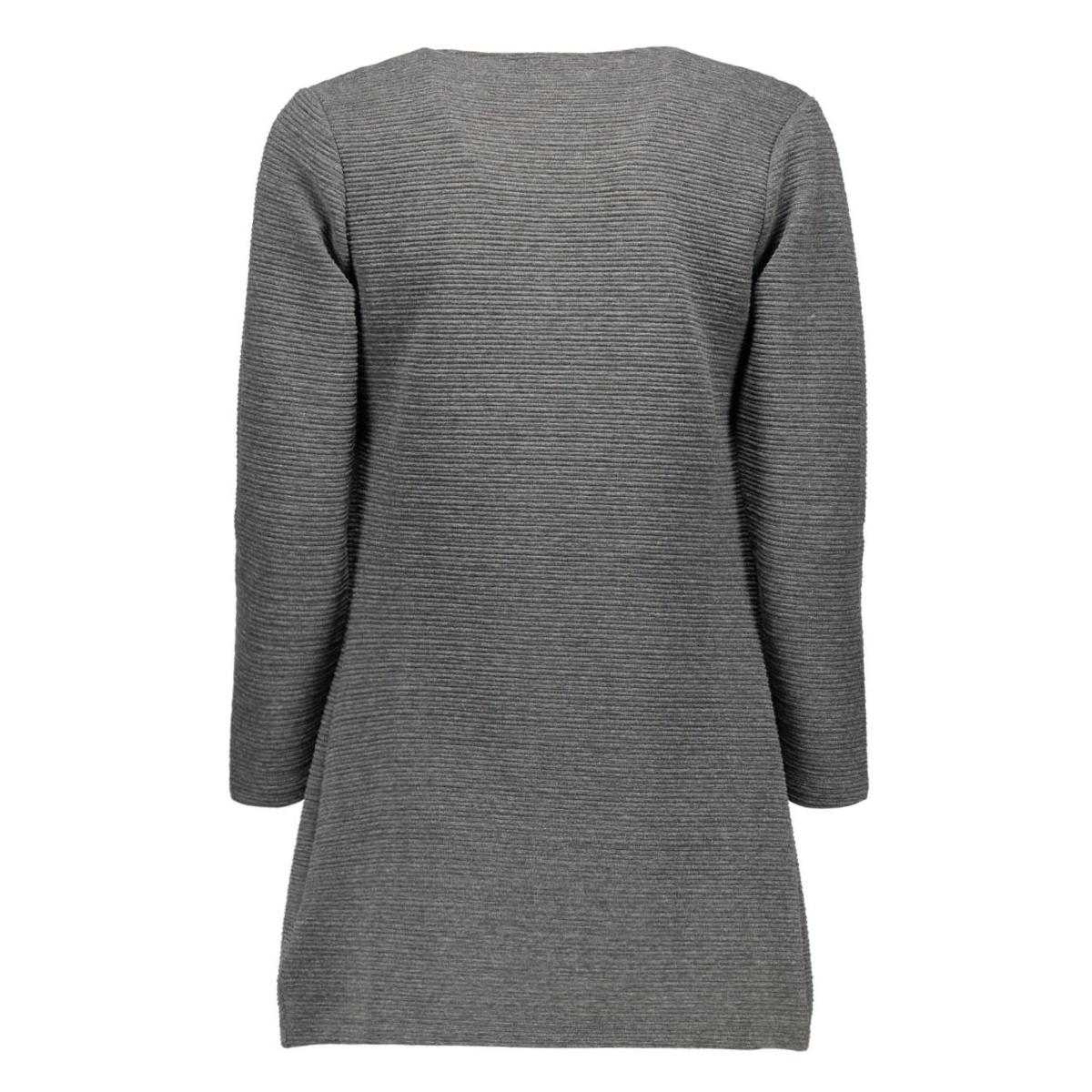 onlleco 7/8 long cardigan jrs noos 15112273 only vest dark grey melange