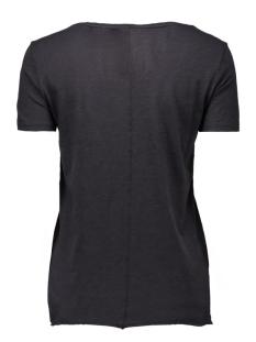 onlbone s/s raw print top box ess2 15127055 only t-shirt black/nope