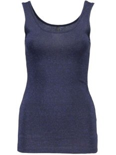 Only Top onlLIVE LOVE GLIMMER TANK TOP NOOS 15101819 Night Sky/Night Sky
