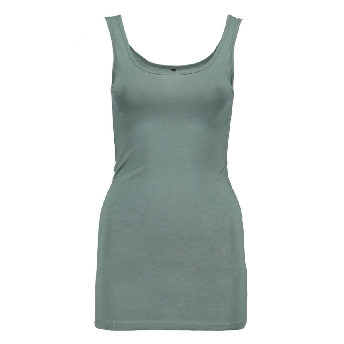 onllive love long tank top noos 15060061 only top blasam green